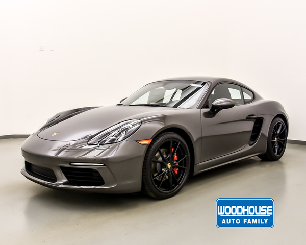 New 2019 Porsche 718-CAYMAN S