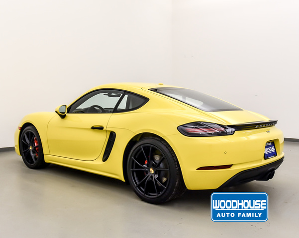 New 2018 Porsche 718-CAYMAN S
