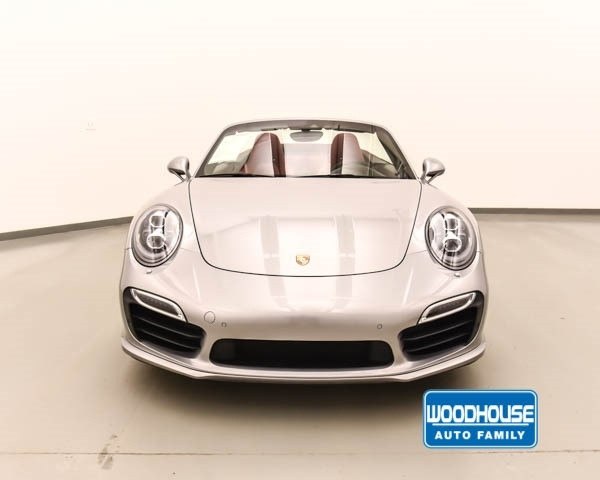 Certified Pre-Owned 2015 Porsche 911 Turbo S Cabriolet