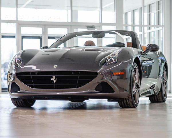 Ferrari California T >> Pre Owned 2017 Ferrari California T Convertible In Omaha A4805